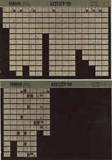 YAMAHA XVZ 13_tf _ Service Manual _ Microfich _ microfilm _ 99