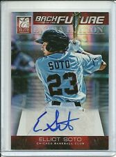 2012 Elite Back to the Future Elliot Soto Auto #8 #'d 014/649 Autograph