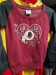 NFL Washington Redskins Youth  Girls Sweatshirt  M ( 7 / 8)