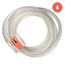 """Clear Vinyl Standard Size Airline Water Tubing 3/16"""" ID 1/4"""" OD 25ft 50ft 100ft"""