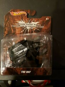 HOT WHEELS 1/50 SCALE THE DARK KNIGHT RISES THE BAT