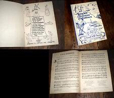 rondes et chansons enfantines partition piano chant 1937 Odette Vargues
