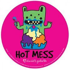 DAVID & GOLIATH - Hot Mess - Aufkleber Sticker - Neu #196