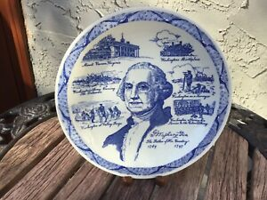 VERNON KILNS GEORGE WASHINGTON PLATE