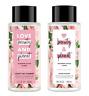 (2x) LOVE BEAUTY & PLANET Shampoo/Conditioner Murumuru Butter & Rose 13.5 fl oz