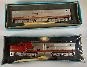 Athearn Blue Box HO ALCO PA1/PB1 Santa Fe ATSF #74 Dmy & DC ATH3325/3345 LOT x2
