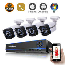 720P 4CH AHD DVR HDMI 1500TVL Outdoor CCTV IR Video Home Security Camera System