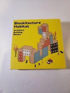 New Sealed Blockitecture Habitat Architect Building Blocks Series 1 Ages 6+ NIB