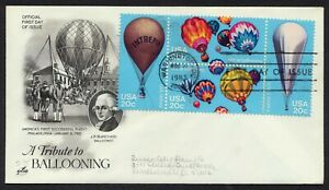 #2035a 20c Balloons, Art Craft-Add FDC **ANY 4=FREE SHIPPING**