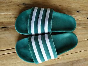 Adidas Adiletten velvet grün 41 42, US 8, UK 8