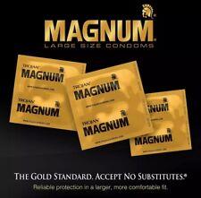50 Trojan MAGNUM Lubricated Condoms Large Size Condoms 50 Count 100% Guaranteed
