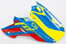 Helmet Universal Visor Matte Black Fly Racing 73-4536