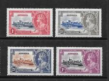 1935 King George V SG91 to SG94 Silver Jubilee Set Mint Hinged ANTIGUA