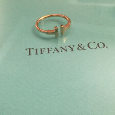 New. Tiffany & Co. Rose Gold T Ring Sz 8.5 $950/new