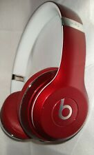 Clean Beats By Dr Dre Solo 2.0 Wired Headphones Burgundy
