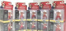 "*Nintendo Super Mario Bros 2.5"" Action Figure Fire Mario x 10 -Cute Doll,Quality"