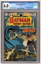 Detective 400 (CGC 6.0) Origin/1st app. Man-Bat; Neal Adams; DC; 1970 (j#6741)