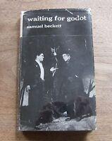 WAITING FOR GODOT a play by Samuel Beckett - HCDJ 1956 1st/1st UK Faber VG+