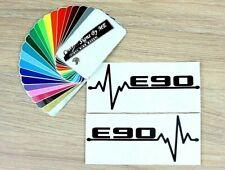2x BMW E90 EKG Car Side Window Mirror Stickers Bumper Vinyl Decal Adhesive