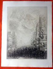 Lithographie - Steinlen - La Marseillaise - Guerre 14-18-