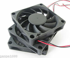50pcs Brushless DC Cooling Fan 70x70x15mm 7015 11 blades 24V 0.15A 2pin fan UK