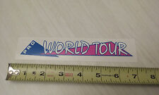 1986 Gt Pro World Tour handlebar decal magenta on clear old school bmx