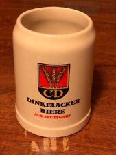 Vintage DINKELACKER BIERE 0.5L Stoneware BEER STEIN Mug Stamped West Germany