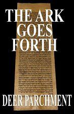 TORAH SCROLL BIBLE VELLUM MANUSCRIPT LEAF 350 YRS MOROCCO Numbers 10:20 -11:15