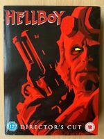 Hellboy DVD 2004 Superhero Film Director's Cut 3-Disc Boxet in Digipak