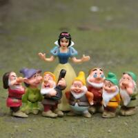 8PCS Snow White And The Seven Dwarfs Toy Action Figure Toys PVC Dolls Gifts