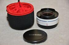 Samsung NX 10mm Fish Eye Camera Lens (White) **** NEW ****