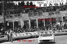 Munari & Andruet Lancia Stratos HF Targa Florio 1974 fotografía 1