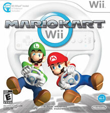 Mario Kart & WII Wheel WII New Nintendo Wii