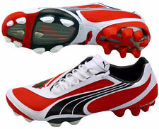 Puma V1.08 i FG Fussballschuhe Nocken 101455 rot weiß schwarz Gr. 39 UK 6
