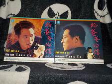 My Father Is A Hero Part 1 & 2 Laserdisc LD Hong Kong Jet Li Free Shipping