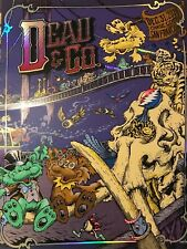 DEAD and COMPANY San Francisco Poster FOIL NYE 12/31 Masthay Dubois Dead & Co
