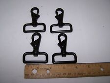 "HANGMAN 4 PK Swivel Eye Bolt Snap Heavy Duty Tilt & Bump Thumb Knob 1.5""  Strap"