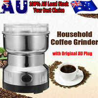 240V Electric Herbs/Spices/Nuts/Coffee Bean Grinder/Grinding/Mill Blender New