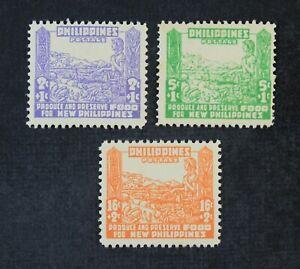 CKStamps: US Stamps Collection Philippines Scott#NB1-NB3 Mint NH OG