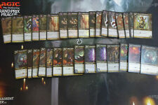 Warcraft TCG CCG - Onyxia Treasure Cards x 32 - Foil Epics Rares and Uncommons