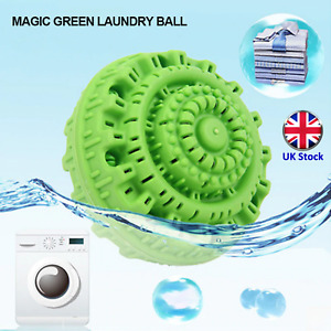Reusable Eco Washing Ball - Anion Molecules - No Detergent Needed - UK Stock