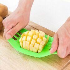 Potato Chip Cut Cutter Slicers Chopper Fry Fruit Vegetable Chipper Dicer Knife