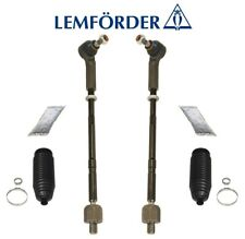 Pair Set 2 Front Steering Tie Rod End Adjusting Sleeves Lemforder For W116 W126