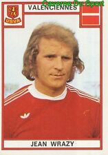 334 JEAN WRAZY POLAND US.VALENCIENNES VIGNETTE STICKER FOOTBALL 76 PANINI