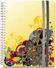 Spiral Journal Piccadilly Medium Lined both Sides 200 PGS. 8.25X5.75 Wire-O