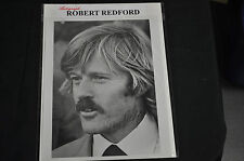 ROBERT REDFORD VINTAGE AUTHENTIC AUTOGRAPHED  SIGNED 8X10 PHOTO VERY RARE!