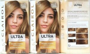 3 Ct Clairol Ultra Lift 11CC Cool Blonde Designed For Dark Hair Permanent Color