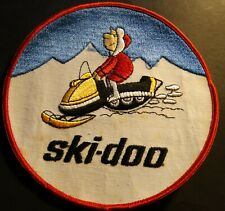 "Vintage Ski-Doo Snowmobile Patch About 6"" X 6"" New (925)"