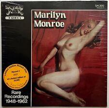 MARILYN MONROE Rare Recordings 1948-1962 Ltd Ed Picture Disc #3627 SEALED LP