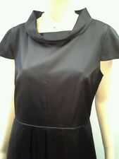EIGHT by TABLE EIGHT Size 16 Satin Pleat Cap Sleeve Evening Dress NWOT RRP $289